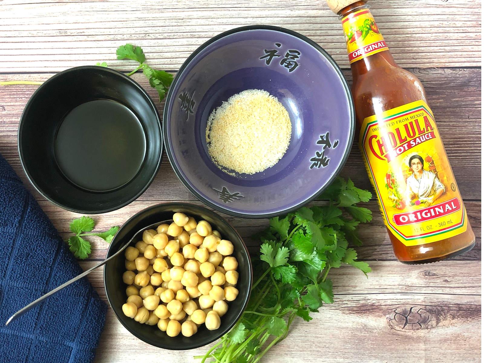air fryer garbanzo beans