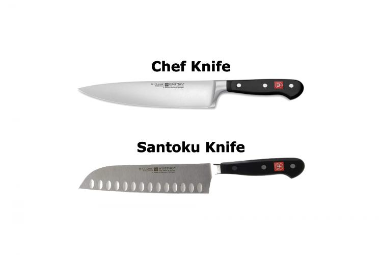 santoku vs chef knife