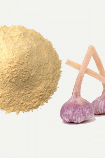 Feature image for garlic powder vs salt, garlic powder nutrition and substitutes post