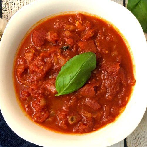 hearty marinara sauce