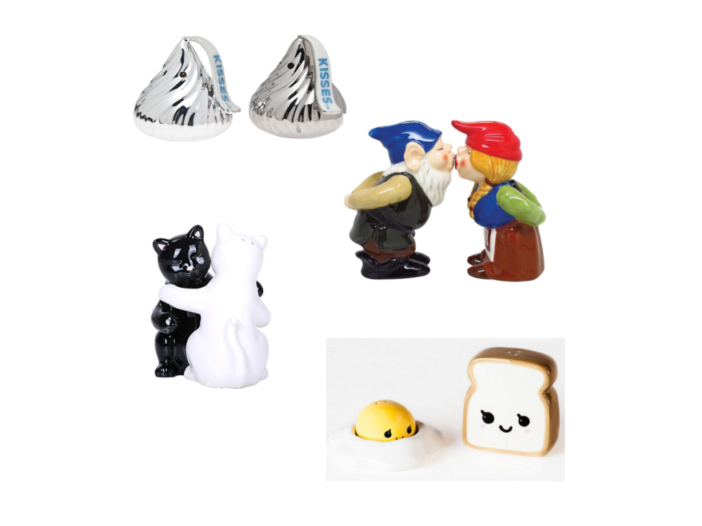 fun and cute salt and pepper shakers