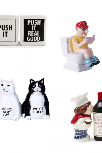 funny salt and pepper shakers