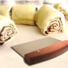 bench scraper and dough scraper for cinnamon buns