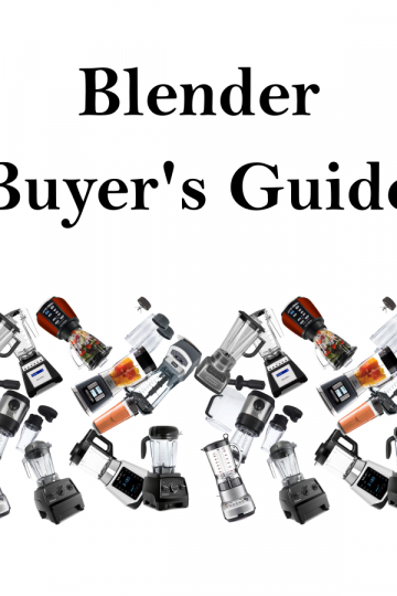 buying a blender