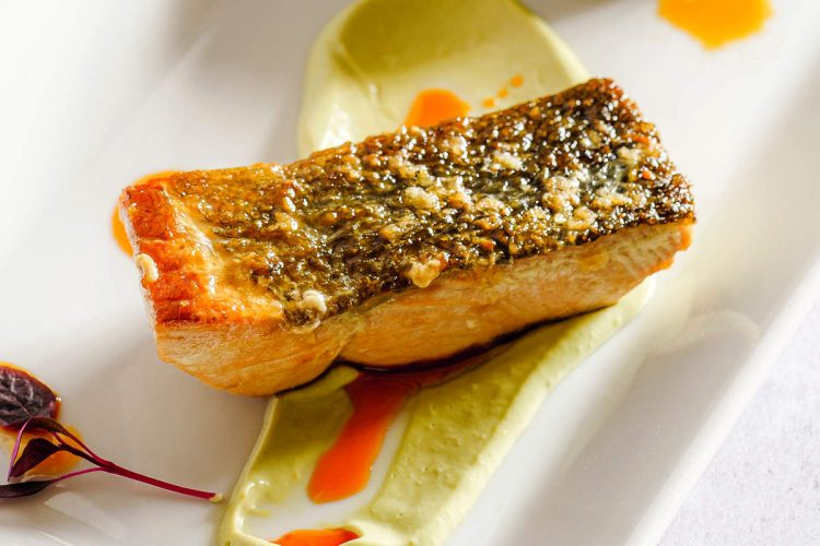 should you eat salmon skin? crispy pan seared salmon