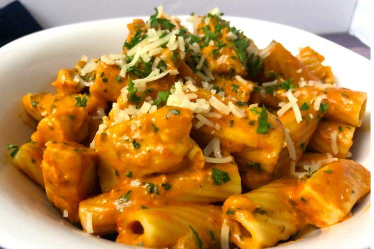 creamy rose sauce pasta