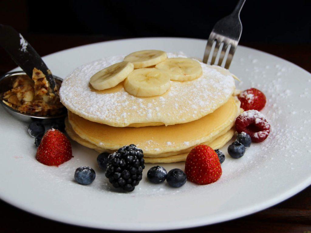 cooking with perfect pancake pan