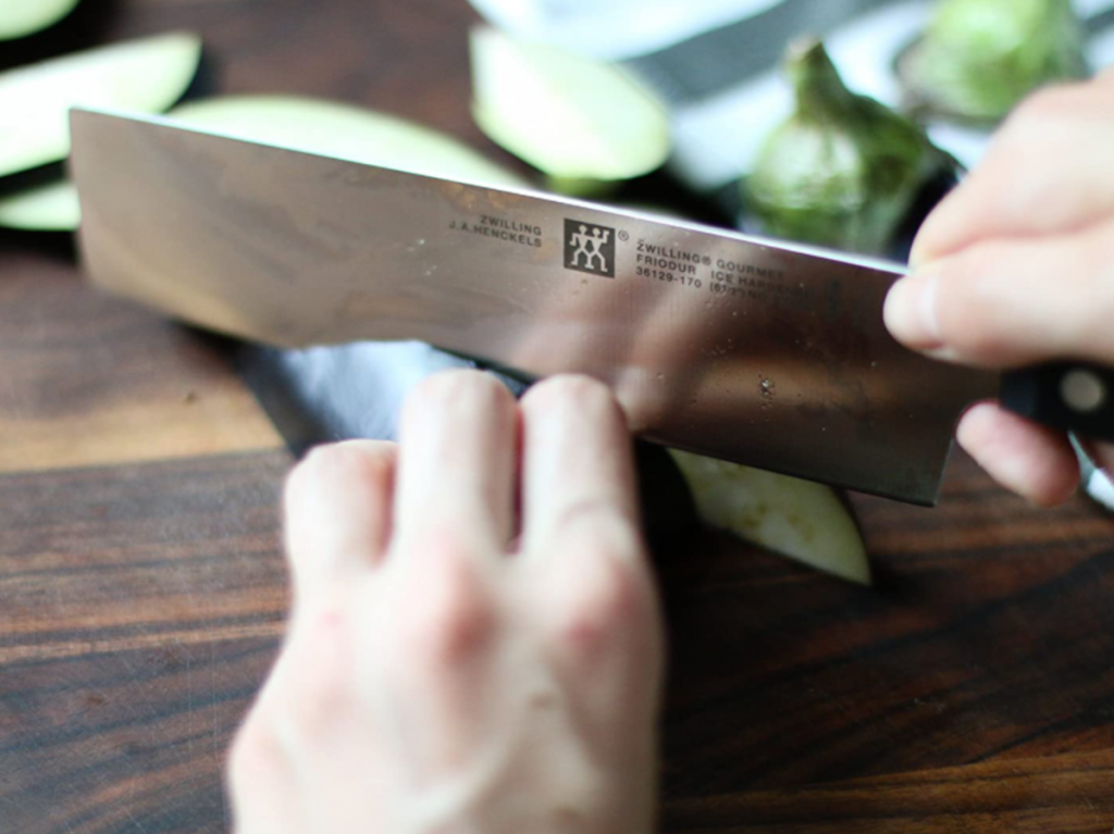 vegetable knife, nakiri, and vegetable cleaver