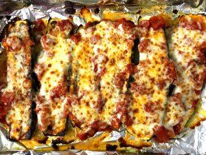 zucchini mozzarella bake