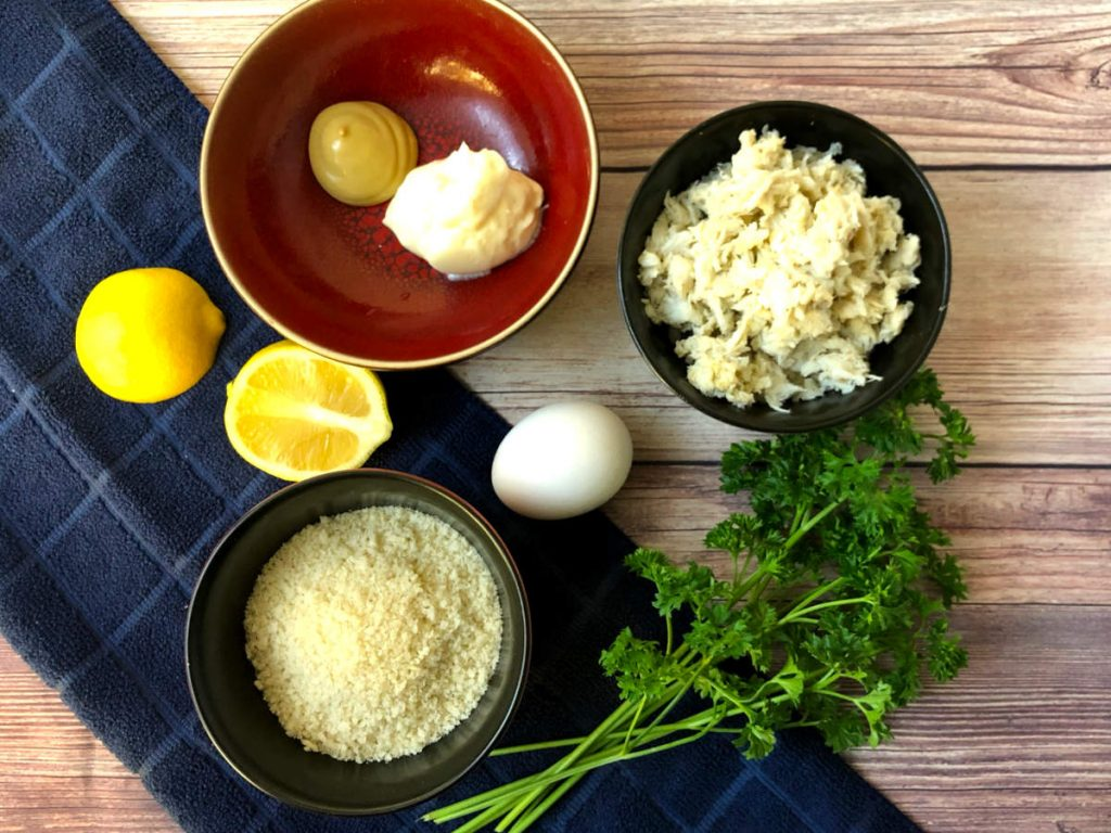ingredients for baltimore style crab cakes in air fryer