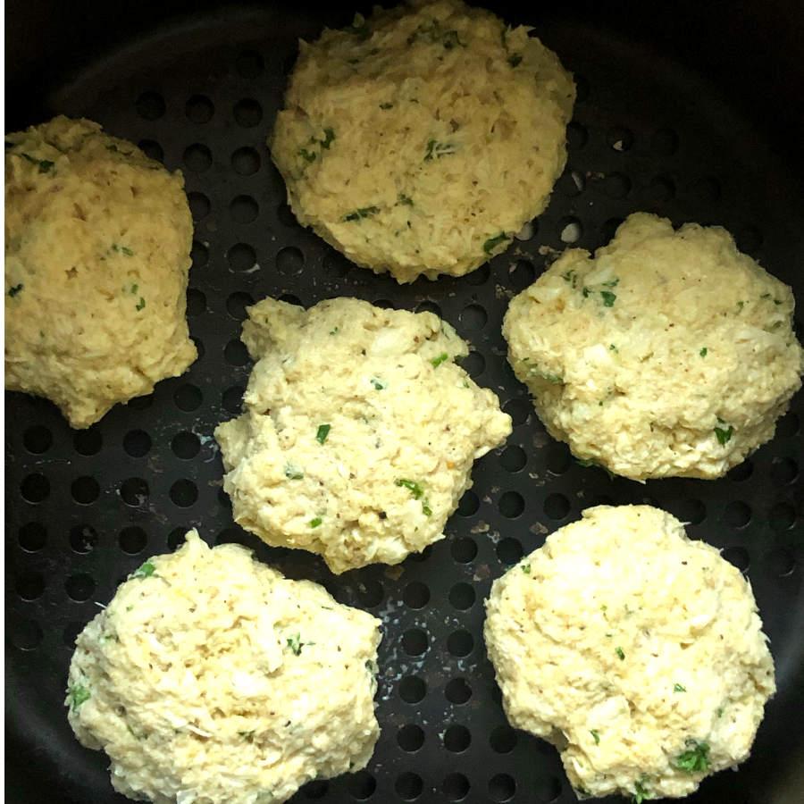 crab cakes in air fryer
