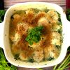 broiled shrimp with parsley garlic butter